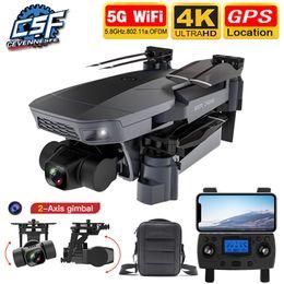 NEUE SG907 PRO DRONE Quadcopter GPS 5G WIFI 4K HD Mechanische 2-Achs-Gimbal-Kamera unterstützt TF-Karte RC-Drohnen Entfernung 800M 201125 im Angebot