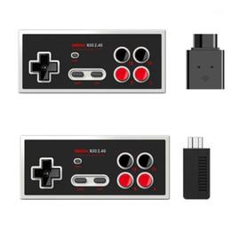 8BitDo N30 2.4 Wireless Gamepad For NES Game Joystick1 on Sale