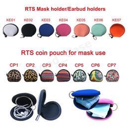 b face mask UK - Coin Face Change Case Unisex Purse Headset Neoprene Totes Solid Color And Bags Portable Multifunction Saev Facemask F102201 Masks B Col Ngkf