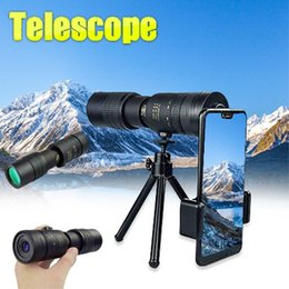monocular telescope for smartphone Australia - Super Telephoto Zoom Monocular Telescope Portable for Beach Travel Supports Smartphone To Take Pictures 10- LJ201117