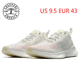 Discount black shoes white soles Best TREEPERI runner 711 soft sole running shoes cream white US 9.5 EUR 43 for men trainers