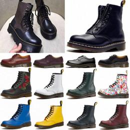 Hot designer 1460 ankle 1461 platform 2976 zip detail men shoes mens women womens fur snow martin fox martins boot desert boots on Sale