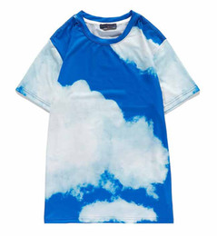 Wholesale cap t for sale - Group buy Designer Women T shirt AW New Arrival Flower Printing T shirt Fashion Men Women Sky Blue Comfort Cool Tee M XL