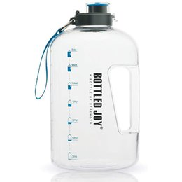 classic plastics Australia - 1 Gallon Water Bottle Sport For Large Outdoor Jug Camping Portable Travel Drinking Plastic Tour Bottled Joy Water Bottles 201106