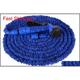 2017 High Quality 25ft-100ft Garden Hose Expandable Magic Flexible Water Hose Hose Plastic Hoses Pipe With Sp qylKVD sports2010 on Sale