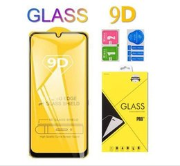 screen protector for galaxy s Australia - 9D Tempered Glass 9H Curved Clear Film Explosion-proof Screen Protector For Samsung Galaxy A90 A70 A80 S A51 A71 A91 M30 M40 M50 in Package