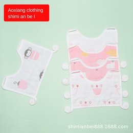white lace bibs Australia - Spitting Newborn Towel Baby Square Bib Pure Saliva Gauze Mask Style Bib Towel Mask Cotton Lacing Square Milk Spitting Jkti Baby La Fqiph