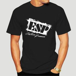 ESP Basses Logo os homens de T-shirt Presentes Black White S 2XL-Natal Top camiseta-3814D