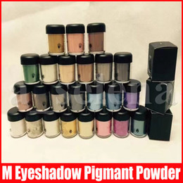 Discount loose shimmer eyeshadow M Eye Makeup Eyeshadow Eye Shadow Matte Shiny Loose Powder Eyeshadows Cosmetic Make Up Pigment powder 7.5g