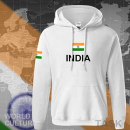 Wholesale indians clothes online – design India hoodies men sweatshirt sweat new hip hop streetwear clothing jerseyes footballer tracksuit nation Indian flag IN fleeceX1014