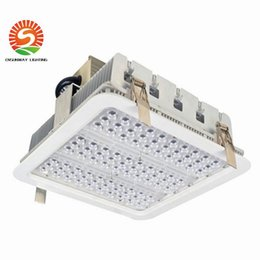 canopy lights for gas station NZ - Explosion Proof Canopy Lights Finned Radiator 100w 150w 180w Led High Bay Light For Gas Station Lights Warehouse Lamp 5 Years Warranty