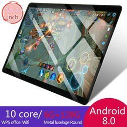 2020 WiFi Tablet PC 1280*800 IPS Screen 10.1 Inch Ten Core 6G+128G Android 9.0 Dual SIM Dual Camera Rear 5.0.0MP IPS on Sale