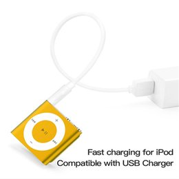 Wholesale MP3 MP4 Charger Suitable for SHUFFLE Data Cable USB Charging 3, 4, 5, 6 7Th Generation Chargers Wire