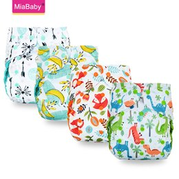 diaper pants for babies Australia - Miababy ECO-friendly Big XL cloth diaper cover for Baby 2 Years and Older, sday-dry inner,adjustable size, fits waist 36-58cm 201007