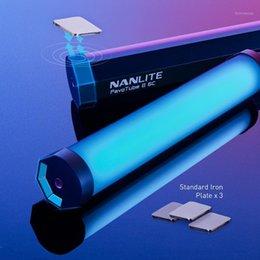 Flashes Nanguang Nanlite 6C PavoTube II LED RGB Pography Lighting Tube Handheld Stick CCT Mode Po Video Camera Light1 on Sale