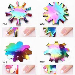 New Easy Line Francês Hot Borda prego Ferramenta cortador de unhas Stencil Borda Trimmer Multi-tamanho prego Manicure Nails Art ferramenta Styling em Promoção