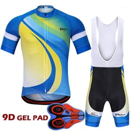 suit set man design 2021 - 2020 New Design Ropa Ciclismo Pro Cycling Clothing Set Short Sleeve Cycling Jersey Suit Maillot Racing Bike Clothes Jersey1