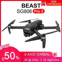 Wholesale SG906 PRO 2  PRO GPS RC Drone 3-Axis Gimbal 4K 5G WIFI FPV Dual Camera 28mins Professional Brushless Motor RC Quadcopter Drone