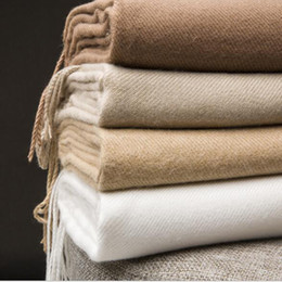 Wholesale Warm scarf 100% Cashmere Mens Scarfs 200x70cm Big Style shawl Vintage Top Quality Soft Scarf Fashion Winter Women Design Soft Warm Scarves