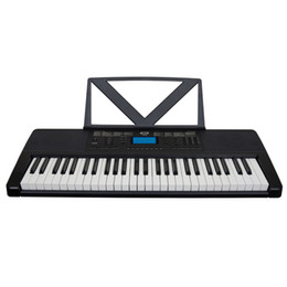 54 Keys Black Electronic Keyboards Musical Electric Piano on Sale