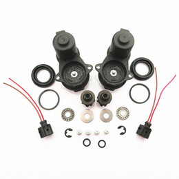 servo motors kit Canada - DOXA Small Teeth Rear Wheel Servo Motor HandBrake Caliper + Screw Kit + Connect Cable Plug For A4 A5 Q5 32335478 1J0 973 722 A V64M#