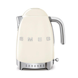 Smeg Klf04 Spot Retro Temperature Control Electric Kettle 4 Th Generation Insulation Warranty for One Year electric teapot on Sale