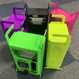 Wholesale Semi-automatic KP-4 Rosin Heat Press Machine King of Power 4 tons Pressure On Clamp Heating Wax Dab Press Kits