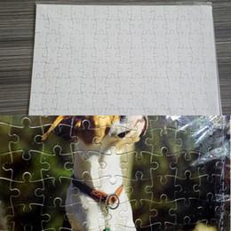 Vente en gros A5 A4 Coeur Shape DIY SUBLIMATION Puzzles Puzzle vierge Puzzle Puzzle Temps Toile Transfert Imprimer Puzzle Rendez-vous Local Retour Cadeau Pour Enfants Jouets H11905