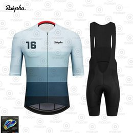 Wholesale 2020 Ralvpha Triathlon Pro Cycling Jersey Bib Shorts Sets Bike uniform Suits Cycling Clothing Ropa Ciclismo Bike Clothes Kit1