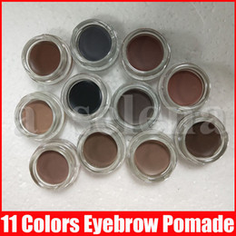 Wholesale New Eye Makeup Eyebrow Cream Pomade Eyebrow Enhancers Make Up Eye Brow Cream 11 Colors With Retail Package