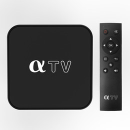 Wholesale Android TV Box aTV Allwinner H313 Quad-core Linux 4.9 1GB 4GB Support Wi-Fi 2.4GHz Receiver