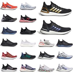 ingrosso cime di laboratorio-Nero Gold ISS US National Lab Solar Red Top Quality Ultraboost Scarpe da corsa blu navy blu Khaki Mens Womens Volt Trainer