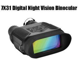 NV400B 400M Range Ir Night Vision Binoculars Ночная Охота Оптическая область с видео и картиной NV Riflescope для охотника на Распродаже