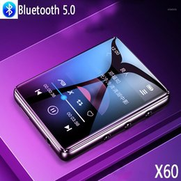 Discount mp3 player built speaker Bluetooth 5.0 metal MP3 player full touch screen built-in speaker 16G with FM radio recording video playback1