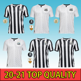 Wholesale h p for sale - Group buy 2020 Brazilian Clube camisa de futebol Soccer Jersey FC Santos GUSTAVO H JEAN MOTA DIEGO P Football Shirt Kits Uniform