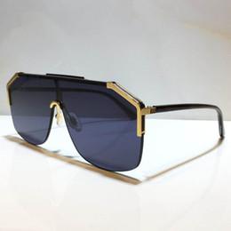 venda por atacado 0291s óculos de sol para mulheres e homens unisex metade quadro revestimento lente 0291 máscara popular óculos de sol carbono fibra pernas verão clássico estilo