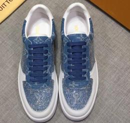 Toptan satış 2020 yeni ayakkabı erkekler rahatLvLouİsVvVUİTTON Lüks Karışık Renkler Loafer'lar LD Moda Sosyal Ayakkabı 301