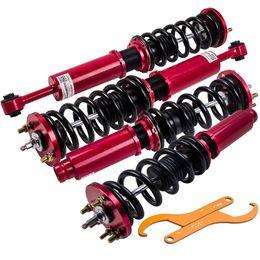 24 façons réglables Damper Coilover Struts pour Honda Accord 03-07 Acura TSX 04-08 en Solde