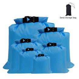 Wholesale 6 PCS Outdoor Waterproof Bag Dry Sack for Drifting Boating Floating Kayaking Beach Fishing Kayak Accessories