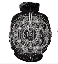 totem hoodie Australia - Newest Fashion Womens Mens Mayan Totem Funny 3D Print Casual Hoodies Pullovers Sweatshirts LMSN0012