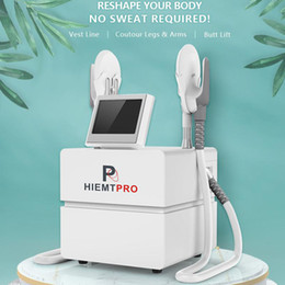sculpt machine NZ - 2021 NEW Portable HIEMT Muscle Stimulate Slimming Machine With Electromagnetic Hiemt Sculpting System Beauty Salon Equipment