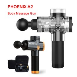 Phoenix A2 Massagem Gun Relaxamento Muscular Massager Profunda massageador elétrico Fascial arma para a cabeça do pescoço de pé massageadores corporais em Promoção