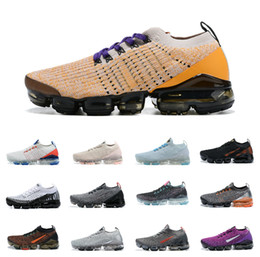 FLY 3.0 Knit 2.0 Vapores Triple Black BE TRUE Men Running Shoes Zebra Earth Womens Breathable Designer Maxes Sports Air Sneakers Trainers on Sale