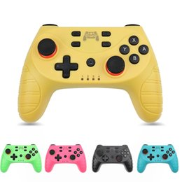 ps2 game consoles UK - Wireless Bluetooth Gamepad For Nintendo NS-Switch Game Controller Switch Pro Controller For Switch Console with 6-Axis #0J1z