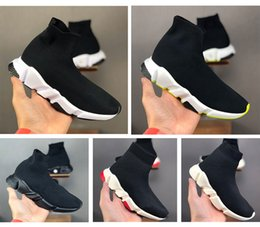 Wholesale crew boot online – design Platform Childrens Kid Sock shoes Vetements crew Sock Runner Trainers womens mens for Boys Girls Shoes Kids Shoes Sneakers Boot Eur