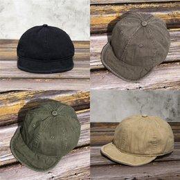 Wholesale hip hop artists online – design TLph1 Hats For Women Men Restoring ancient ways Elegant Gorras Cap Ladies Hat Cotton Hip hop Fashion Beret Men Women Artist Painter Femme Ca