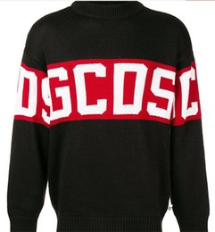 GCDS Popular Logo Couples Sweater Man Women Autumn And Winter Warm PQ8893A