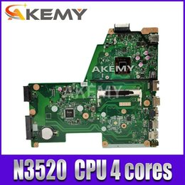 laptop motherboard asus Australia - X451MA laptop motherboard REV 2.1 For Asus F451M X451M X451MA Mainboard DDR3 100% test N3520 CPU 4 cores