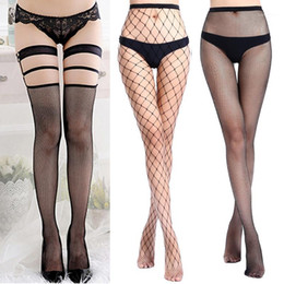 Wholesale fishnet tights resale online - 1 Multi Style Sexy Women s Stockings Tights Pantyhose Mesh Fishnet Stockings Thigh High Collant Femme Female Hosiery1