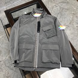 Wholesale s island for sale – custom Stone si Island FW autumn and winter new luxury windbreaker jacket men and women of the same style